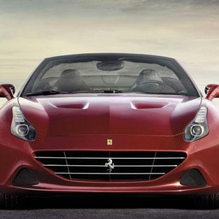 Ibiza Car hire Ferrari California