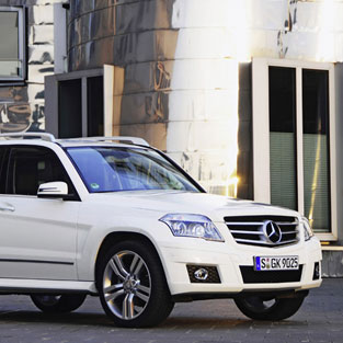 Ibiza car rental Mercedes GLK