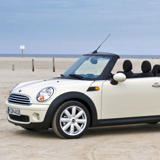 Ibiza Car rental Mini Cooper