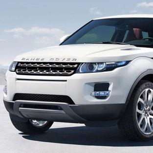 Ibiza Car hire Range Rover Evoque