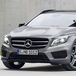 Ibiza car rental Mercedes gla
